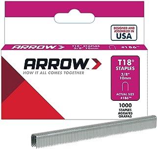 Arrow A256W Staples, Silver, 3/8 Inch/ 10 mm White
