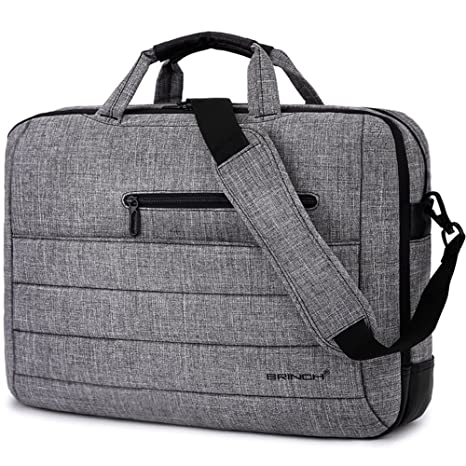 8a272d060f0e BRINCH 17.3 Inch Nylon Shockproof Carry Laptop Case Messenger Bag for  17-17.3 Inch Laptop/Notebook/MacBook/Ultrabook/Chromebook with Shoulder  Strap ...