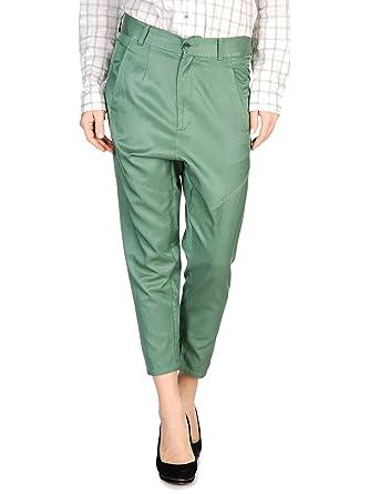 a4d18766103db DIESEL Pantalon en toile femme PHALET vert - 26,27: Amazon.fr ...