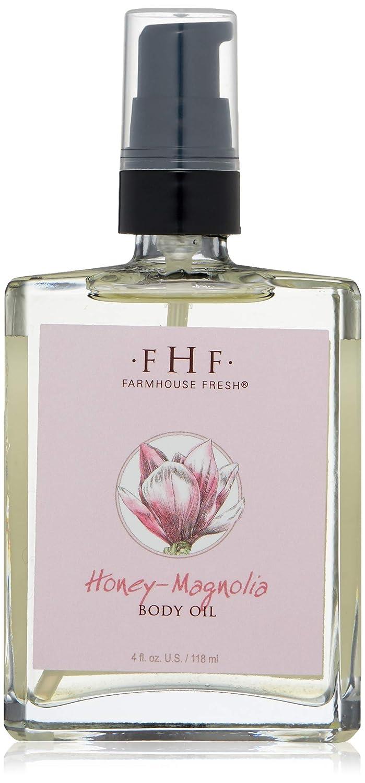 Farmhouse Fresh Honey Magnolia Body Oil 4 Fl Oz Premium Beauty Amazon Com