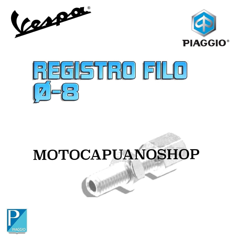 REGISTRO CAVO FRENO POSTERIORE DIAMETRO 8 VESPA 50 125 MotoCapuano 151314142633