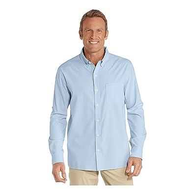 Coolibar Hombre Traje De Protección UV de Camisa: Amazon.es ...