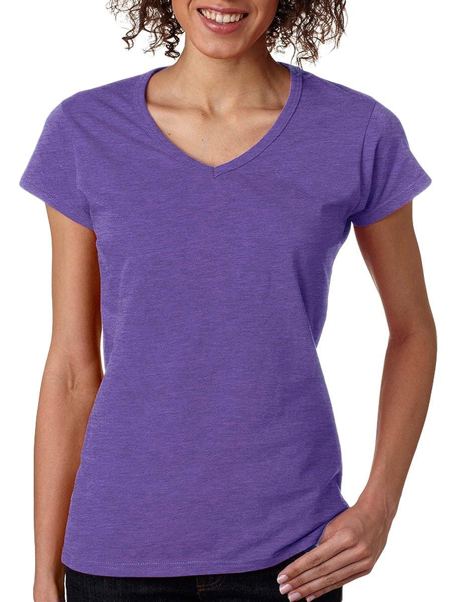 Gildan Softstyle Ladies V-Neck T-Shirt
