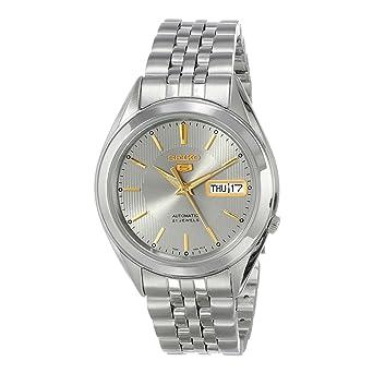 5ed2d524c Seiko 5 five SNKL19J1 Automatic watch for Men: Amazon.ae: MONA ...