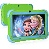 Kids Tablet, 7 inch IPS Display, iWAWA Pre Installed, 1G/16GB WiFi Android Tablet, Dual Camera, Bluetooth, Kids-Proof Tablet