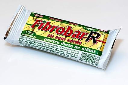 Fibrobar R con té verde - Barra de proteína - Paquete de 30 barras   por REDIS