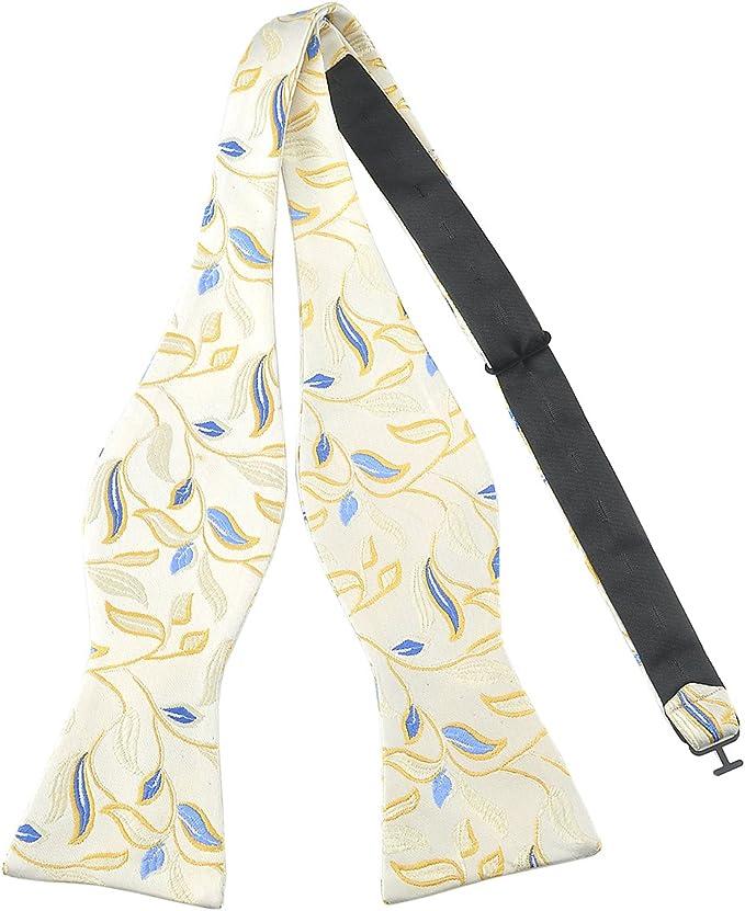 Corbata de moño Pensee para hombre, corbatas de moño de seda ...