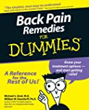 Back Pain Remedies For Dummies