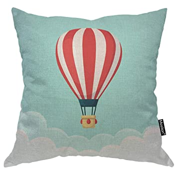 Amazon.com: Moslion - Funda de almohada de globo con diseño ...