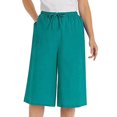 100% Crinkle Cotton Culottes