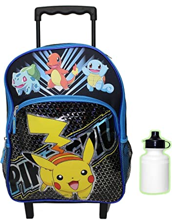 Amazon.com: Pokemon Rolling Backpack: Toys & Games