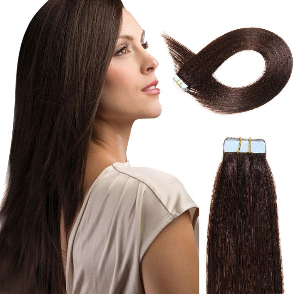 Amazon weft release tape extension remover beauty tape in human hair extensions 16 inch 20pcs 40gpack slilky straight seamless skin weft pmusecretfo Gallery