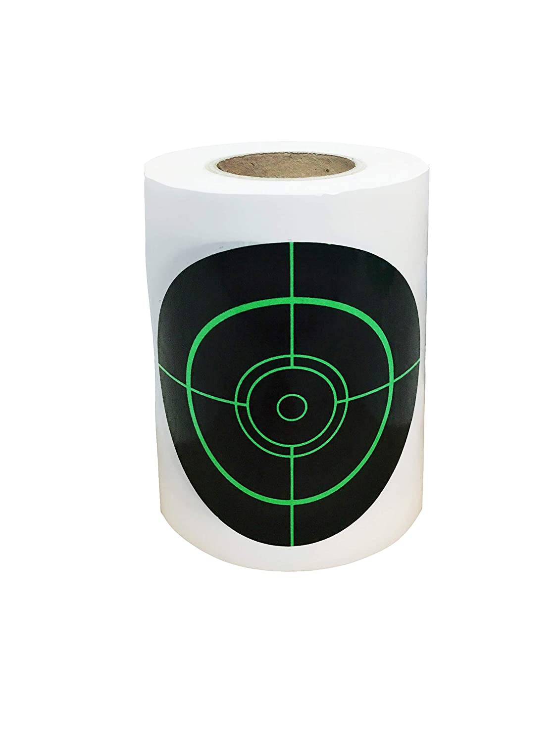 Shooting Targets 3 inch 250 Roll Splatter Targets Self Adhesive Paper Reactive Target Stickers for Gun Rifle Pistol Bb Gun Airsoft Pellet Gun Air Rifle Popresin