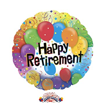 Balloons Delivered In A Gift Box Happy Retirement Helium Balloon 114027