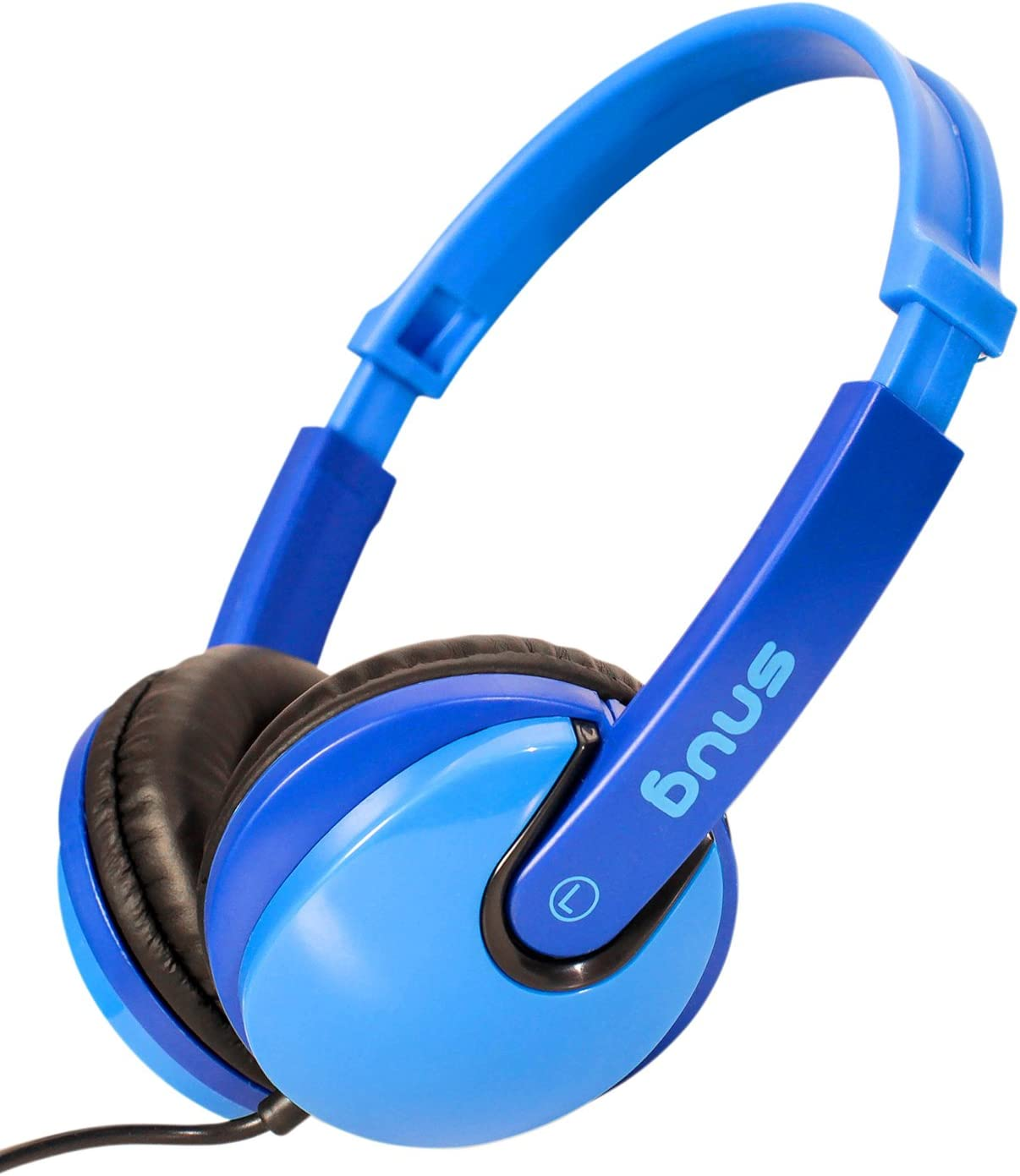 Snug Plug n Play Kids Headphones for Children DJ Style (Blue)