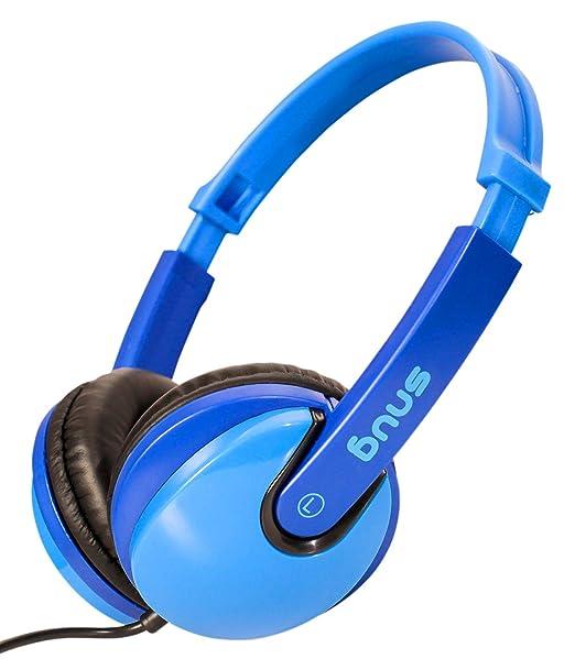 24 opinioni per Snug Plug n Play Cuffie Bambini DJ Stile (Azzurro/Blu)
