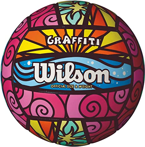 Wilson Graffiti - Balón de Voleibol: Amazon.es: Deportes y aire libre