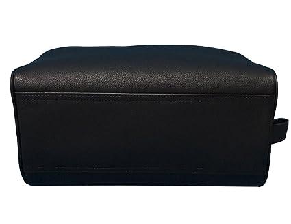 5c63576e70be Coach Leather Travel Dopp Kit Toiletries Bag in Black 58542  Amazon.ca   Home   Kitchen