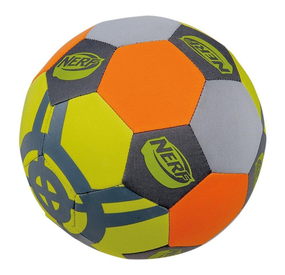 Happy People 16570 - Neopren Fußball Nerf, Größe 5, Farblich Sortiert Größe 5