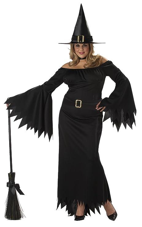 California Disfraz de bruja para mujer, talla UK 16-22 (01642CC)