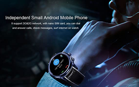 LEMFO LEM5 Pro - 3G Smartwatch Phone 1.3GHz Quad Core 2GB RAM 16GB ...