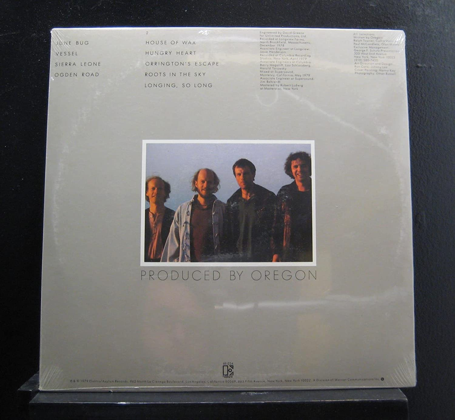 Oregon - Roots In The Sky - Lp Vinyl Record