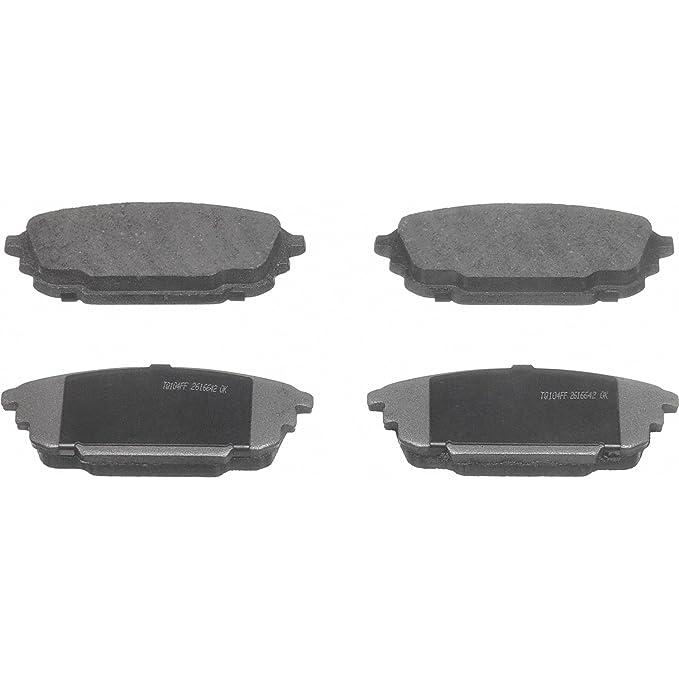 Gold Hose /& Stainless Green Banjos Pro Braking PBF8175-GLD-GRE Front Braided Brake Line