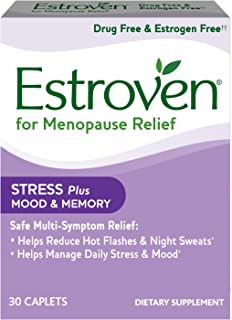 Amazon.com: Estroven Plus Mood & Memory Caplets for Menopause, 30 ...