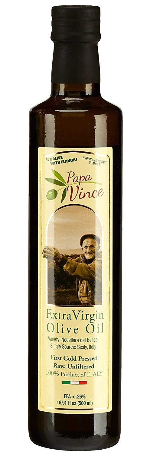 Papa Vince extra virgin olive oil