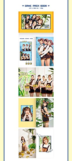 OH MY GIRL, OHMYGIRL - OH MY GIRL [BANANA ALLERGY MONKEY] Pup-up Album CD+POSTER+Photobook+Card+Tracking Number - Amazon.com Music