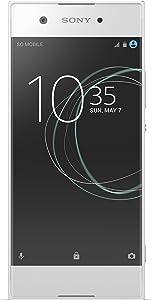 Sony Xperia XA1 - Unlocked Smartphone - 32GB - White (US Warranty)