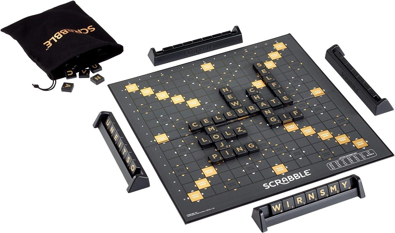 Mattel Games Scrabble Edición Especial 70, Sociedad De Caza Y Letras, Versión Francesa, Gct21: Amazon.es: Juguetes y juegos
