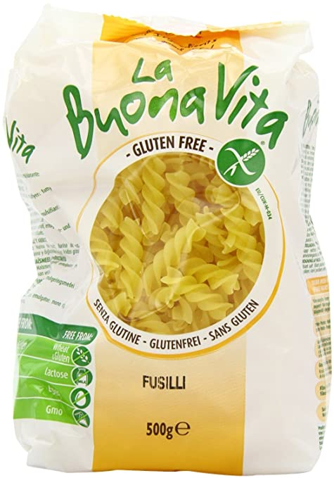 La Buona Vita Sin Gluten Fusilli 500g: Amazon.es: Hogar