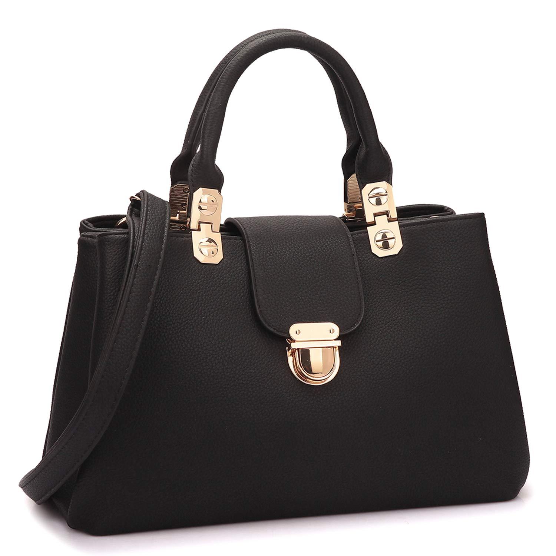 Yeahii Women Ladies Leather Shoulder Bag Handbag Satchel Top-handle Bags Crossbody Hobo Purse