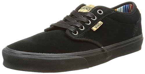 Vans M Atwood Deluxe Suede, Sneakers Basses homme, Noir
