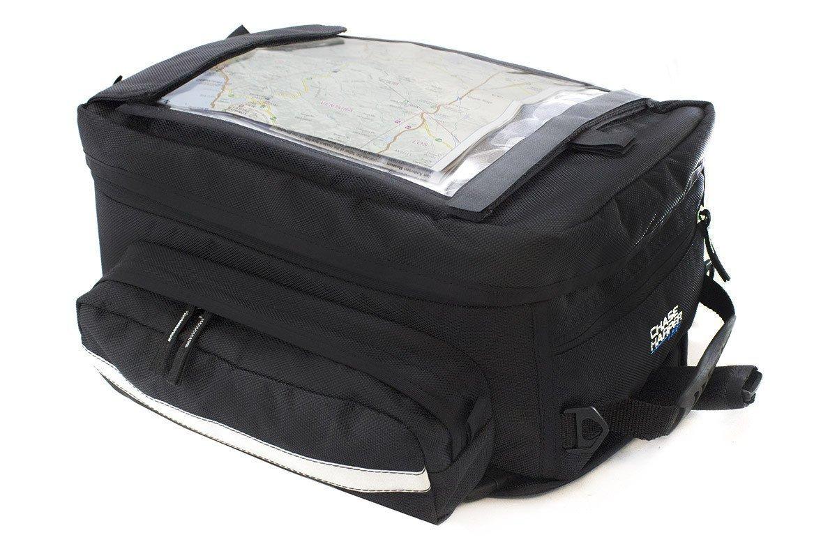 Chase Harper 1560M Black Magnetic Sport Tour Tank Bag - 35.3 Liters by Chase Harper