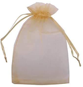 100pcs Organza Wedding Party Favor Favour Gift Candy Bags Jewellery Pouch 4 Size