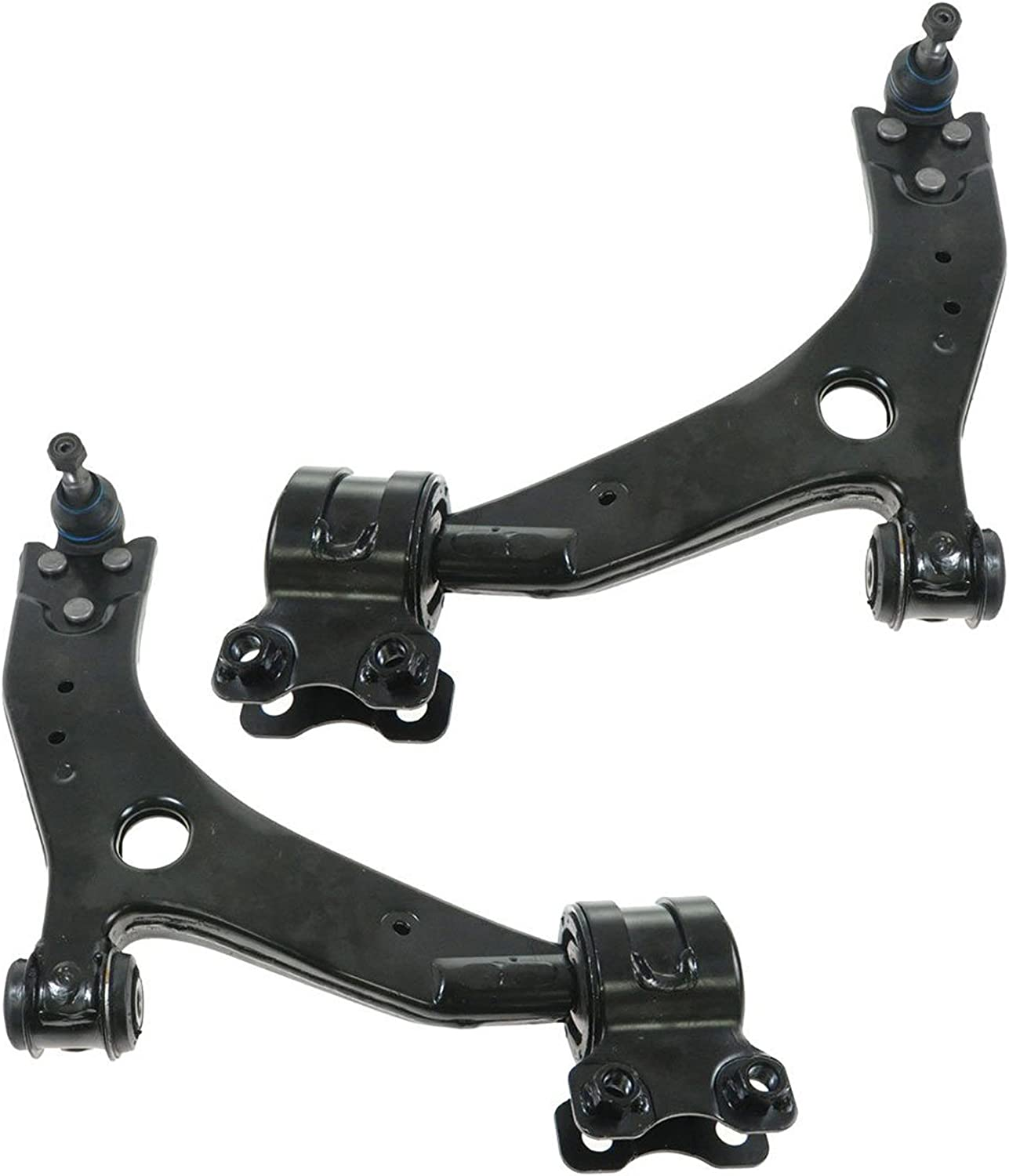 2 Front Lower Control Arms 15mm for Volvo S40 C70 V50 04-06 Made in Taiwan