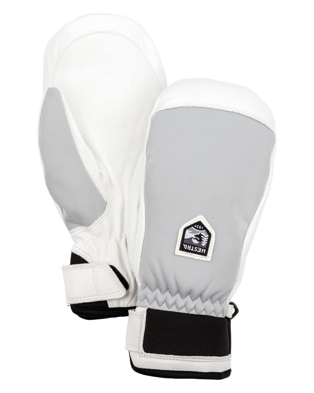Hestra Gloves 30491 Women's Moje CZone Mitt, Misty Grey - 7 by Hestra