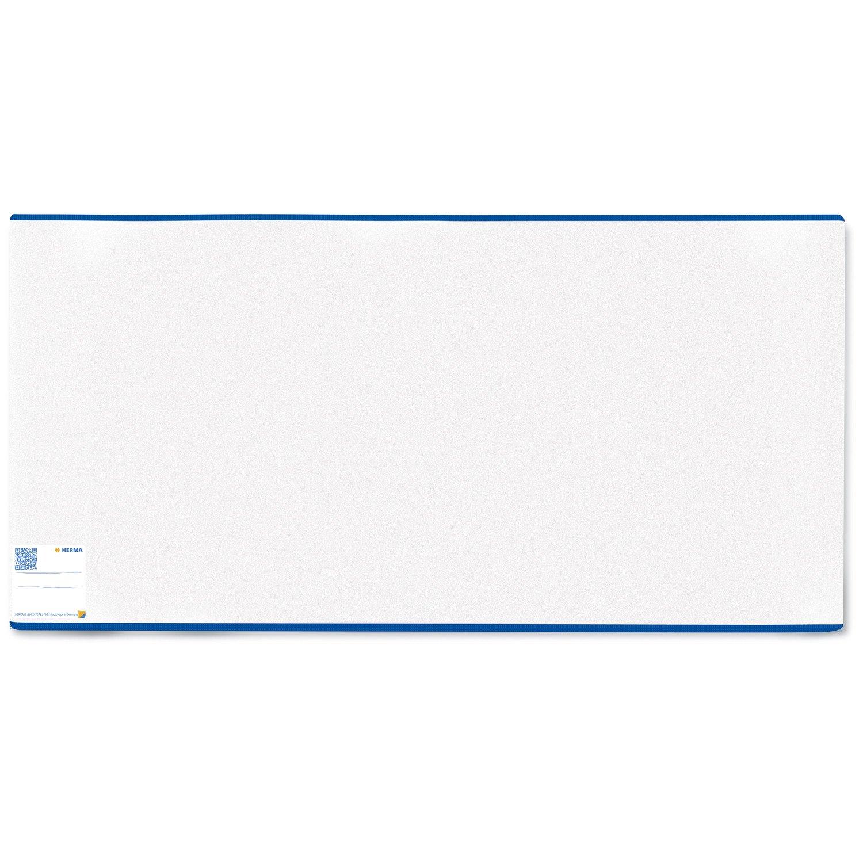 Herma 10 x Buchschoner PP mit Lasche transparent 195 x 380mm