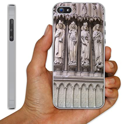 save off 0f175 f14bb Amazon.com: iPhone 5 Case - Notre Dame Cathedral (Portal Sculptures ...