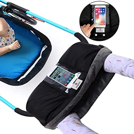 Guantes Silla de Paseo Cochecito de beb/é Guantes Manoplas para Carro Bebe Impermeable A Prueba de Viento Invierno Protege Manos Guantes Caliente