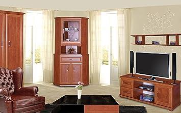 Salon - Set complet d\'Louga, 5 pièces, couleur : rouge ...