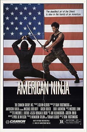 American Ninja 1985 Authentic 27