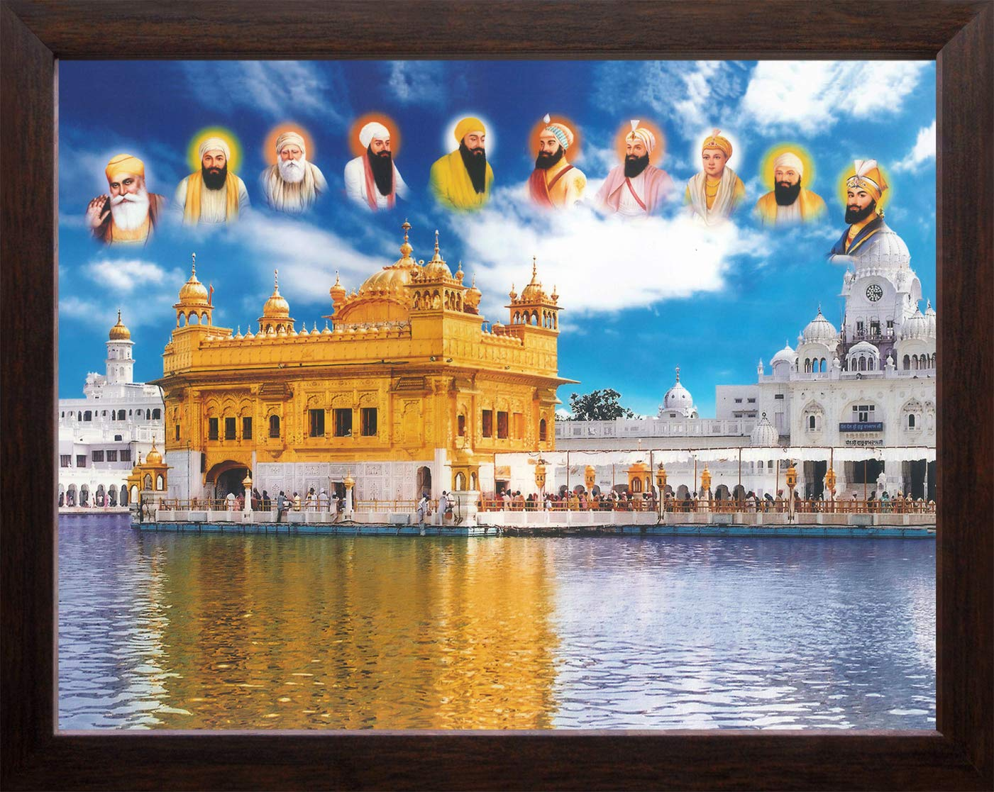 Art n store all ten sikh gurus and golden temple in amritsar high