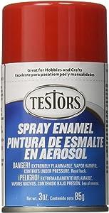 Testors Spray Enamel 3oz, Gloss Red