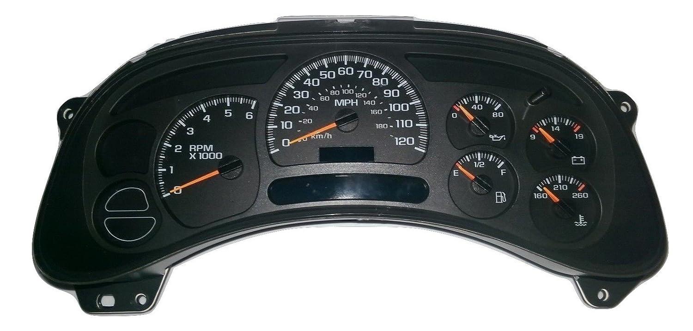 Chevy Silverado Tahoe Gmc Sierra Gauge Cluster 1991 Truck Instrument Wiring Diagram Speedometer 15135668 Automotive