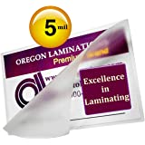 Oregon Laminations Premium 5 Mil 4x6 Photo Hot Laminating Pouches 4-1/4 x 6-1/4 (Pack of 500) Clear