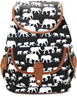 PickUrStyle Casual Backpack Canvas Backpack Purse School Daypacks Travel Backpack for Girls/Women