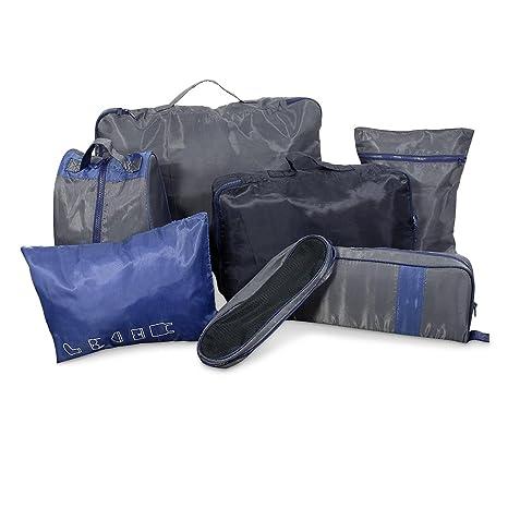 Bolsas para organizar la maleta de viaje Set de 7 piezas ...
